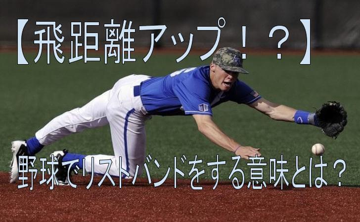 野球の守備練習をしている画像