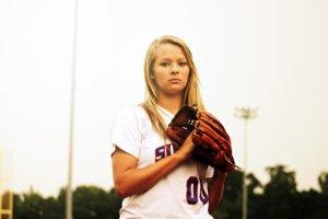 女性の野球選手