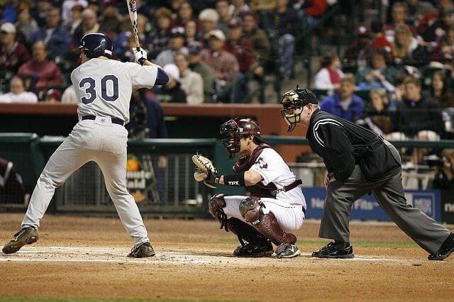 メジャーリーグで活躍する野球選手