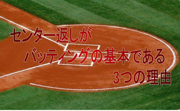 野球場の本塁付近の図