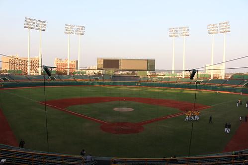 野球場の図